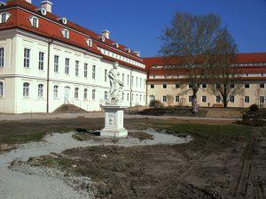 Jagdschloss Hubertusburg Aussenanstrahlung