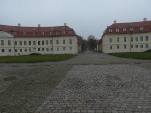 Jagdschloss Hubertusburg Aussenbeleuchtung Schlossplatz