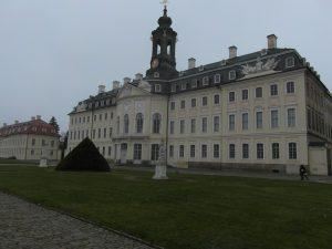 Jagdschloss Hubertusburg Foyer